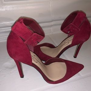 Jessica Simpson Cayna Ankle Strap Pumps!